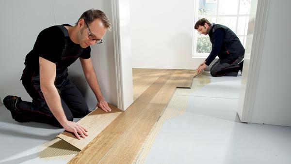 verlegung von fertigparkett. Black Bedroom Furniture Sets. Home Design Ideas