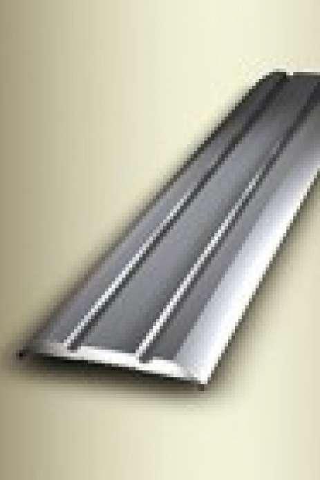 Kuberit Ubergangsprofil 230 Sk Selbstklebend Mit Zierrille Lange 100 Cm Farbe Edelstahl Titan