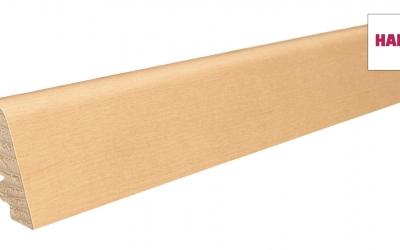 406952 haro fussleiste ahorn lackiert 19 x 39 mm