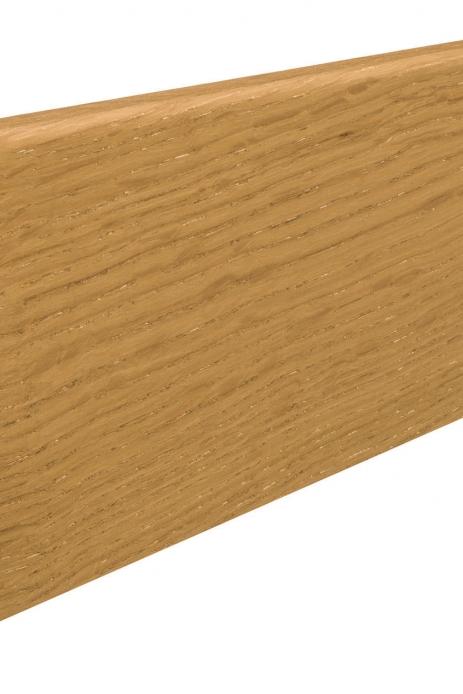 407433 haro fussleiste eiche lackiert 15 x 80 mm kubus
