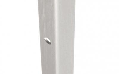 409376 haro abdeckleiste aluminium fuer den abschluss des haro laminat und celeniobodens an der wand edelstahloptik