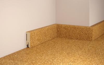 e1295 tilo fussleiste fuer korkboden basic natur 16 x 50 mm