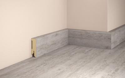 e1229 tilo fussleiste fuer vinylboden marmor carrara 16 x 50 mm