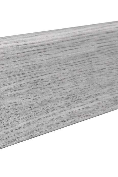 407827 haro laminat fussleiste eiche hellgrau foliert 19 x. Black Bedroom Furniture Sets. Home Design Ideas