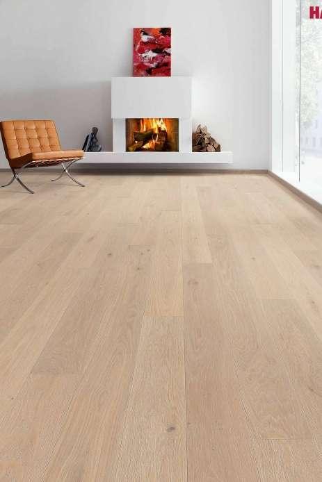 535538 haro parkett landhausdiele 4000 eiche cremeweiss gekalkt markant natur strukturiert 4v. Black Bedroom Furniture Sets. Home Design Ideas