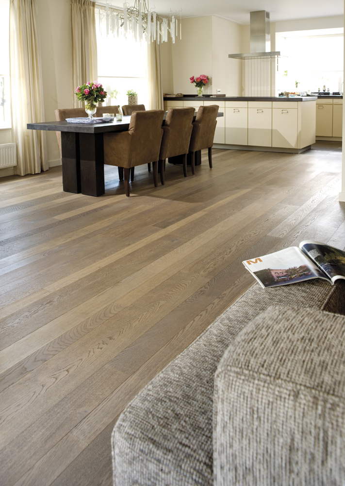 1114479 Solidfloor Parkett Eiche Notre Dame Landhausdiele mill run ...