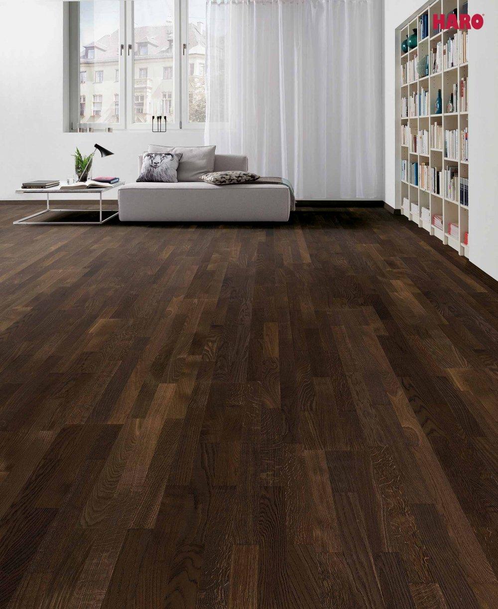 523813 haro parkett 3 stab schiffsboden 4000 achateiche exquisit trend permadur versiegelt. Black Bedroom Furniture Sets. Home Design Ideas