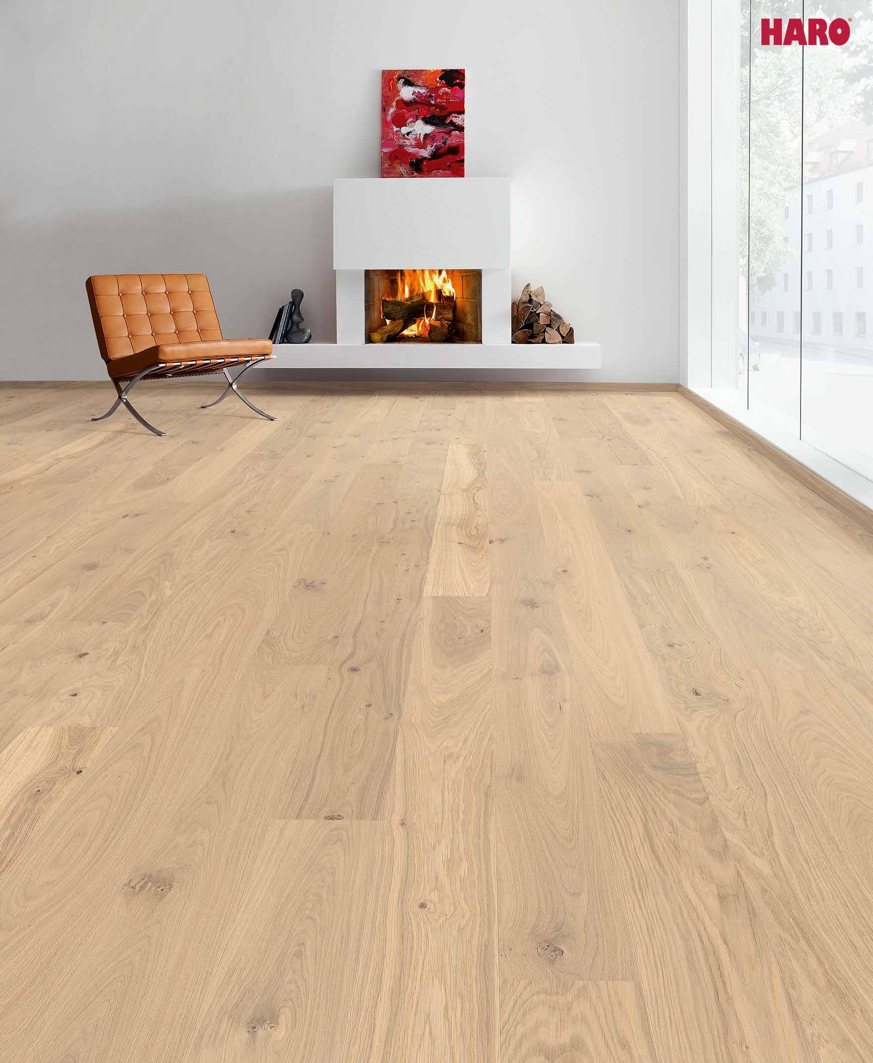 531130 parkett haro landhausdiele 3000 eiche alabama strukturiert lackiert 2v micro fase. Black Bedroom Furniture Sets. Home Design Ideas