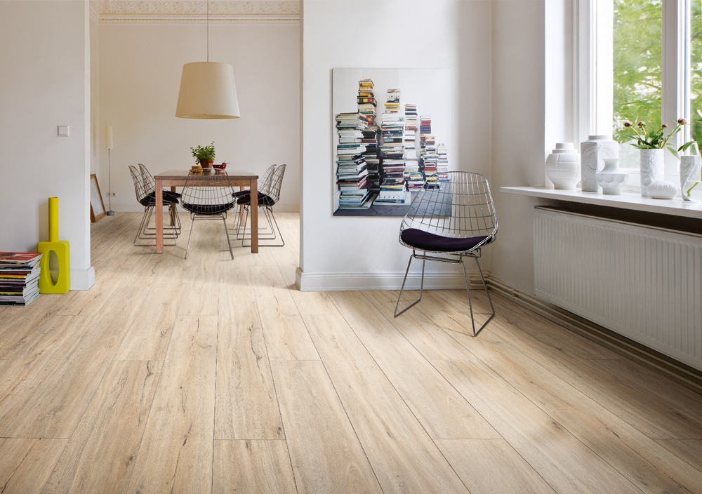 534399 disano life by haro designboden eiche jubile landhausdiele xl strukturiert mit 4v fase - Vinylboden wohnzimmer ...