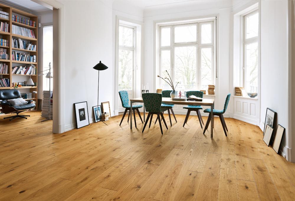 533037 haro parkett landhausdiele 4000 eiche puro stone sauvage rustico strukturiert 4v fase. Black Bedroom Furniture Sets. Home Design Ideas
