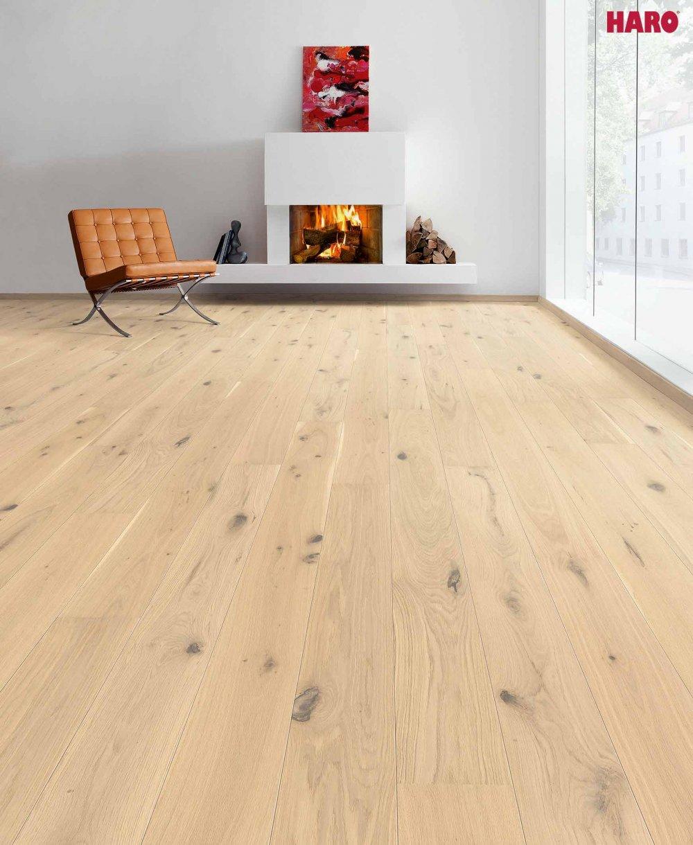 536621 haro parkett landhausdiele 3500 eiche wendelstein strukturiert 2v fase natur ge lt. Black Bedroom Furniture Sets. Home Design Ideas