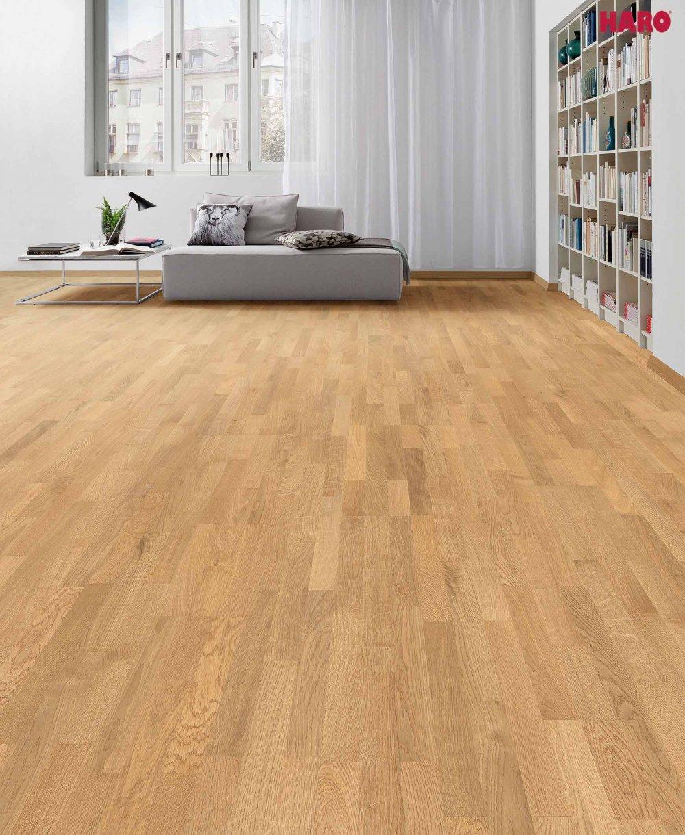 535416 haro parkett 3 stab schiffsboden 4000 eiche trend strukturiert naturadur lackiert. Black Bedroom Furniture Sets. Home Design Ideas
