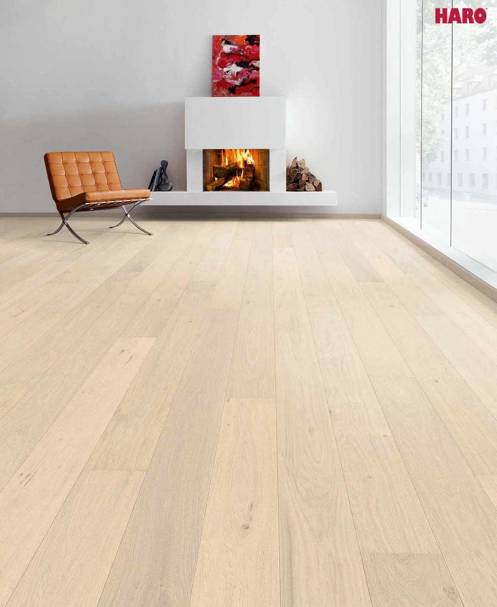 535443 haro parkett landhausdiele 4000 eiche sandweiss markant natur strukturiert 2v fase. Black Bedroom Furniture Sets. Home Design Ideas