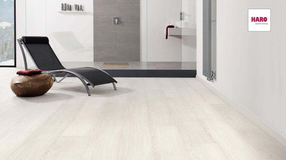 536238 disano classic aqua vinylboden eiche weiss wasserresistent landhausdiele xxl strukturiert. Black Bedroom Furniture Sets. Home Design Ideas