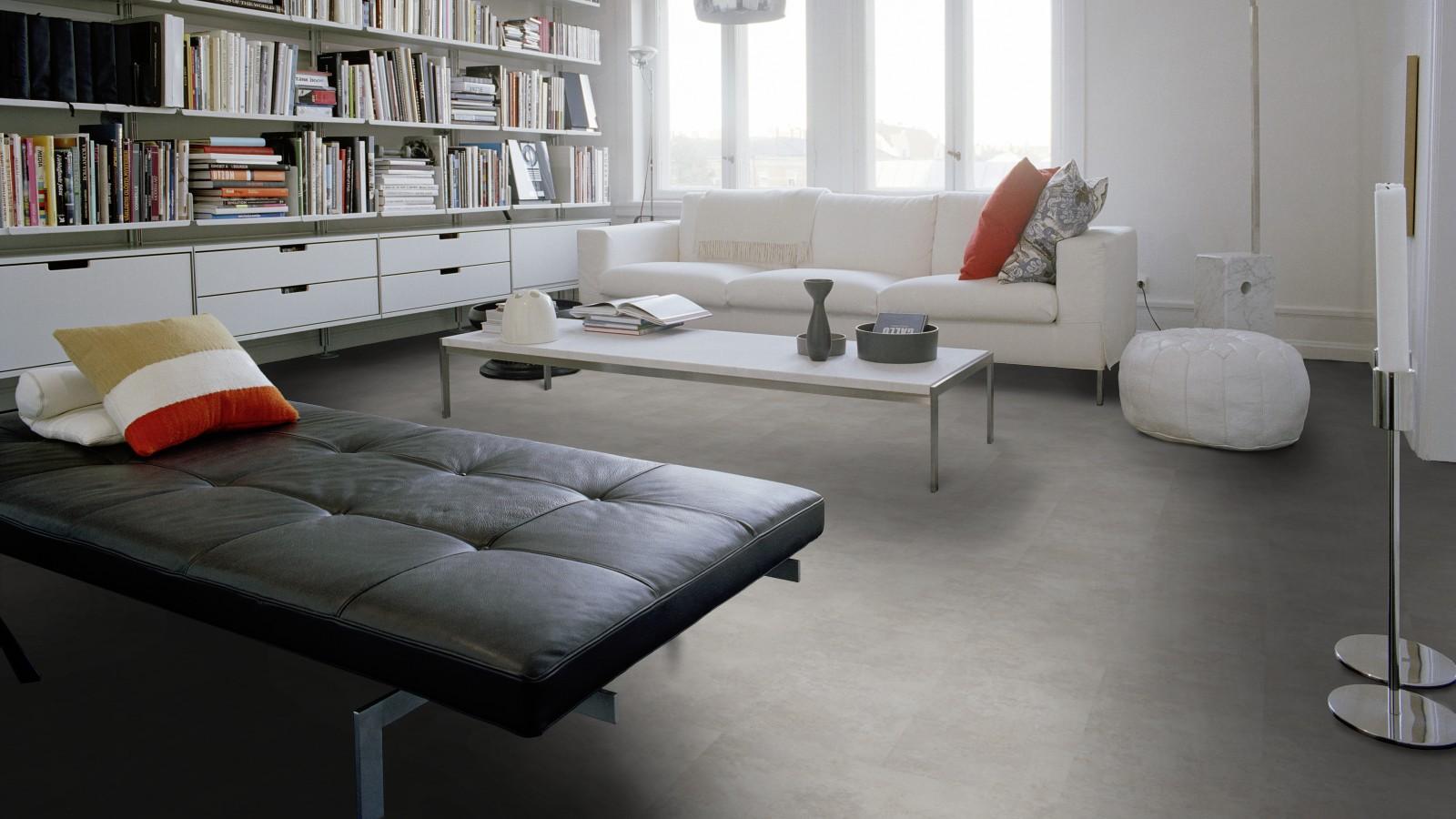 5910 objectflor expona domestic vinyl designbelag silver slate. Black Bedroom Furniture Sets. Home Design Ideas
