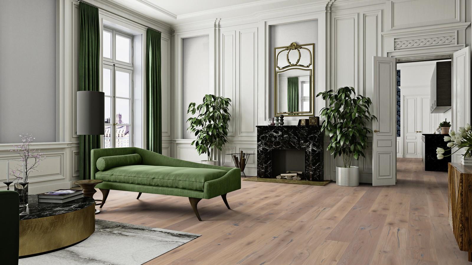 socyzmwd boen parkett chaletino landhausdiele 300 mm eiche vintage white gefast gehobelt tief. Black Bedroom Furniture Sets. Home Design Ideas