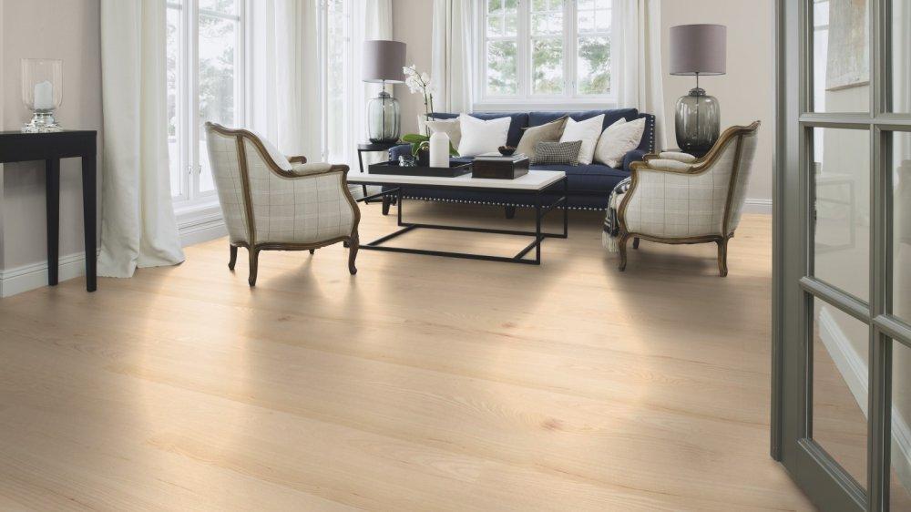asg832pd boen parkett landhausdiele 138 mm esche andante wei live matt lackiert. Black Bedroom Furniture Sets. Home Design Ideas