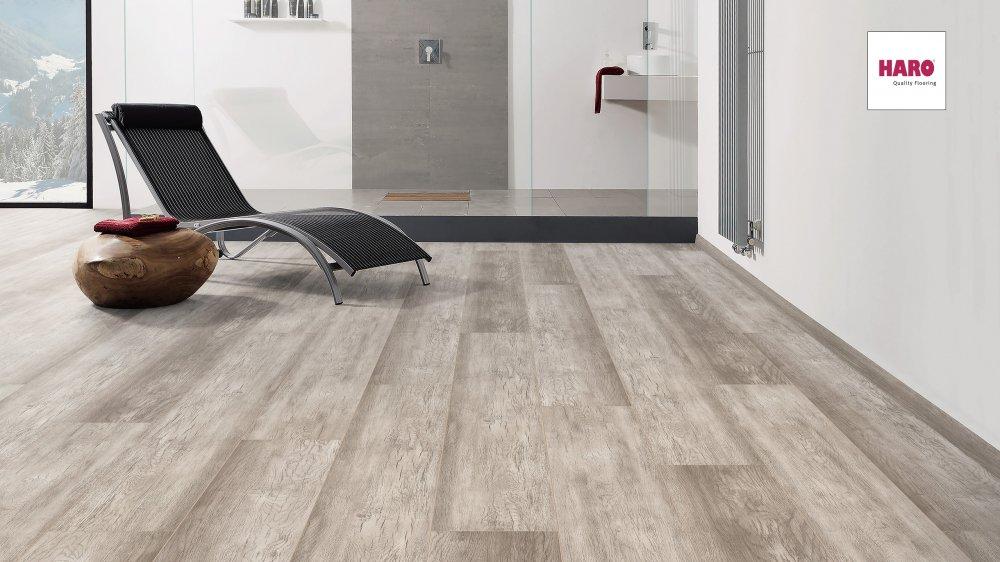 536251 disano classic aqua vinylboden country eiche grau wasserresistent landhausdiele xxl. Black Bedroom Furniture Sets. Home Design Ideas