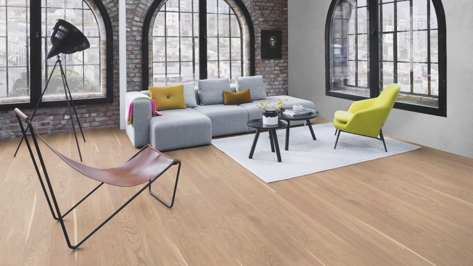 boen parkett landhausdiele finesse 10 5 mm eiche natur wei live matt. Black Bedroom Furniture Sets. Home Design Ideas