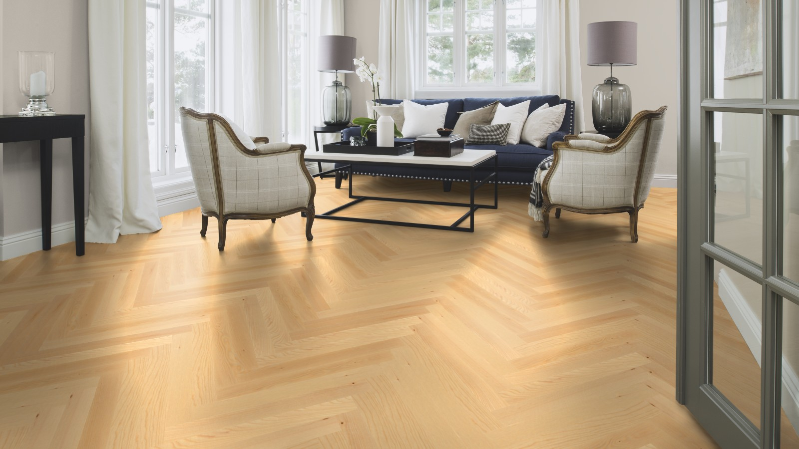 asn23k5d boen parkett stab prestige 10 mm esche natur live natural ge lt. Black Bedroom Furniture Sets. Home Design Ideas
