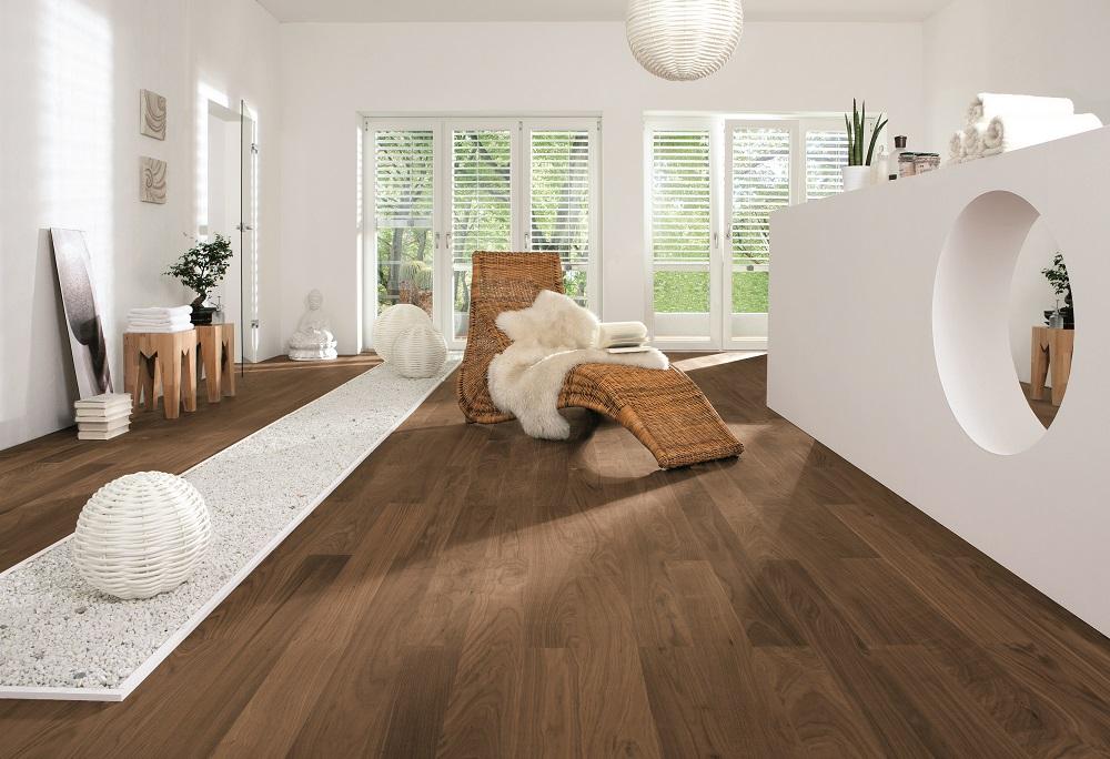 525506 haro parkett stab prestige amerikanischer nussbaum. Black Bedroom Furniture Sets. Home Design Ideas