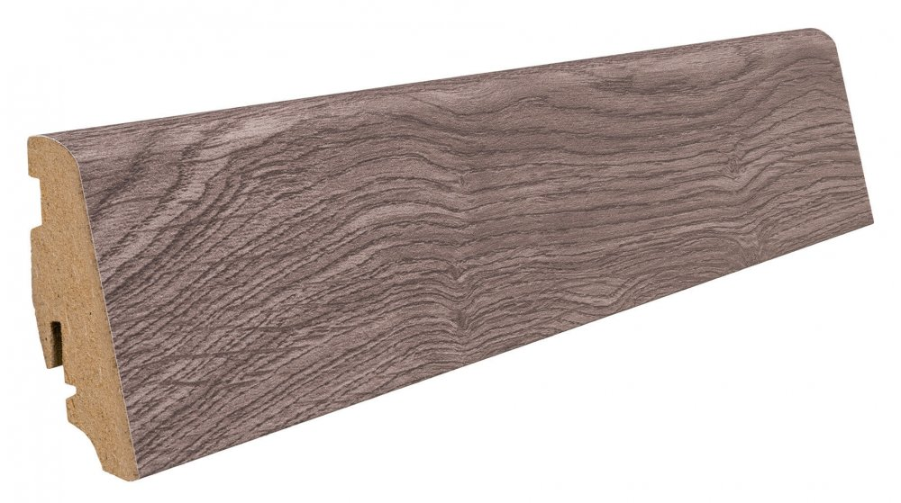 409321 haro laminat fussleiste eiche portland grau foliert. Black Bedroom Furniture Sets. Home Design Ideas