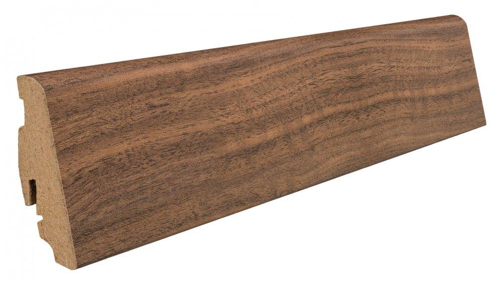 409313 haro laminat fussleiste nussbaum ambiente foliert. Black Bedroom Furniture Sets. Home Design Ideas