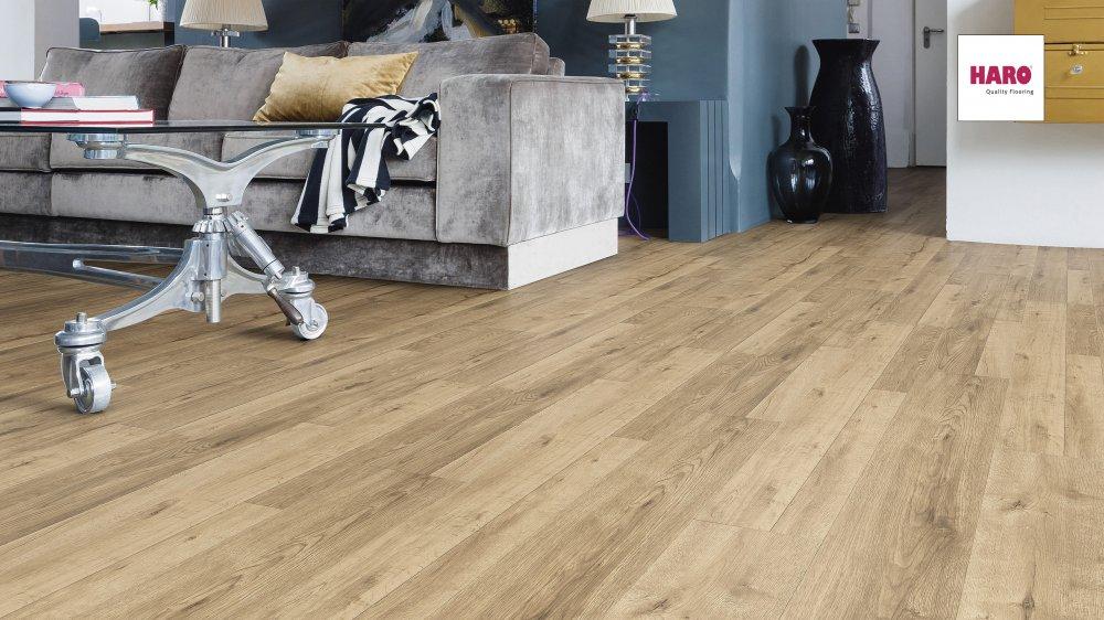 535262 haro laminat tritty 100 landhausdiele 4v eiche venezia soft matt. Black Bedroom Furniture Sets. Home Design Ideas