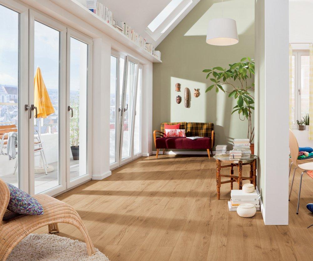 526709 haro laminat tritty 100 landhausdiele gran via 4v alpineiche natur authentic matt. Black Bedroom Furniture Sets. Home Design Ideas