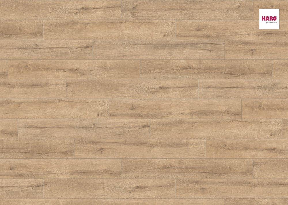 533102 haro laminat tritty 75 landhausdiele 4v eiche verano strukturiert matt. Black Bedroom Furniture Sets. Home Design Ideas