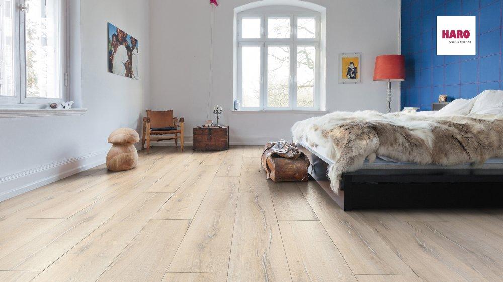 535236 haro laminat tritty 90 landhausdiele 4v shabby oak soft matt. Black Bedroom Furniture Sets. Home Design Ideas