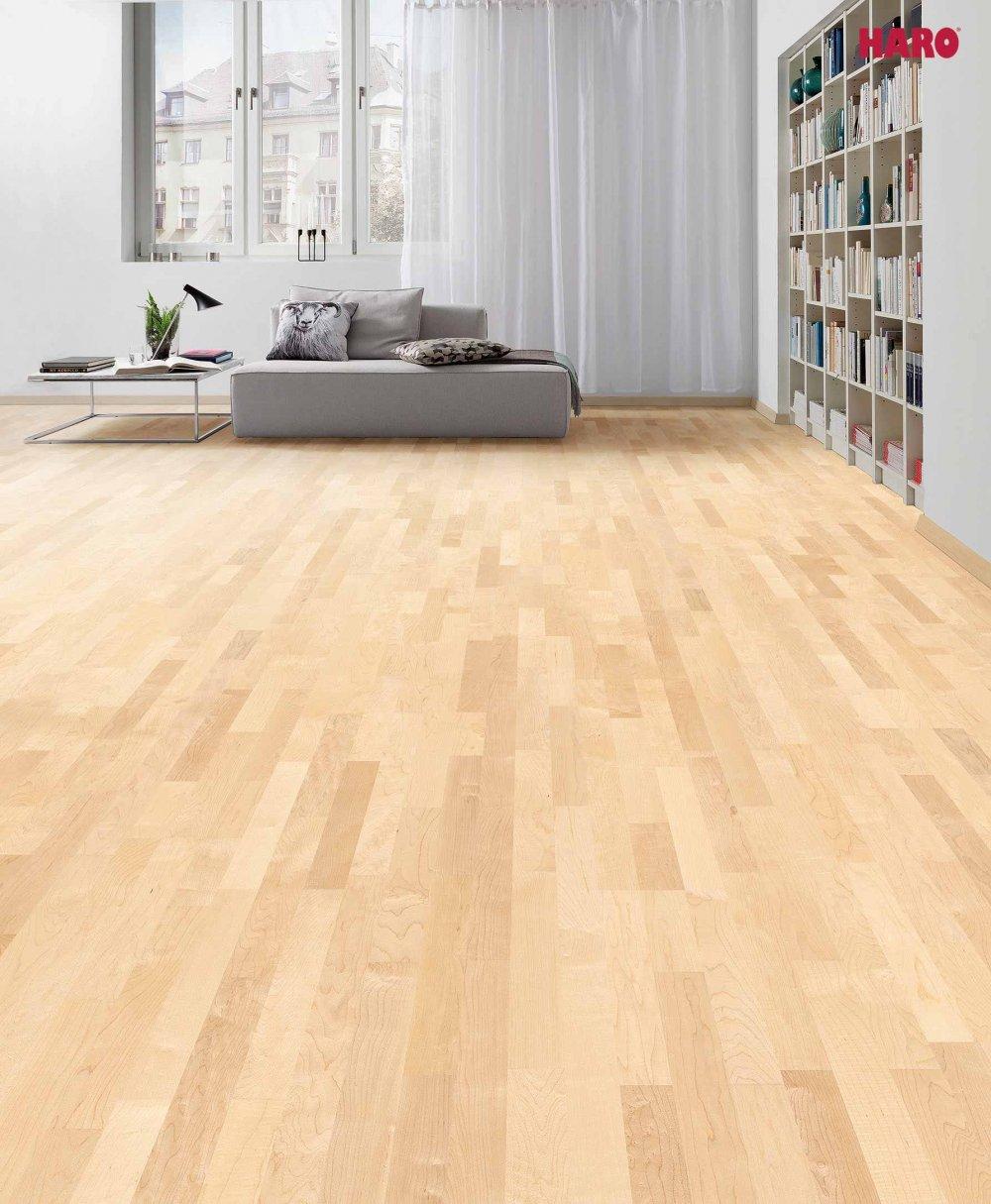 523809 haro parkett 3 stab schiffsboden 4000 canadischer ahorn trend lackiert. Black Bedroom Furniture Sets. Home Design Ideas