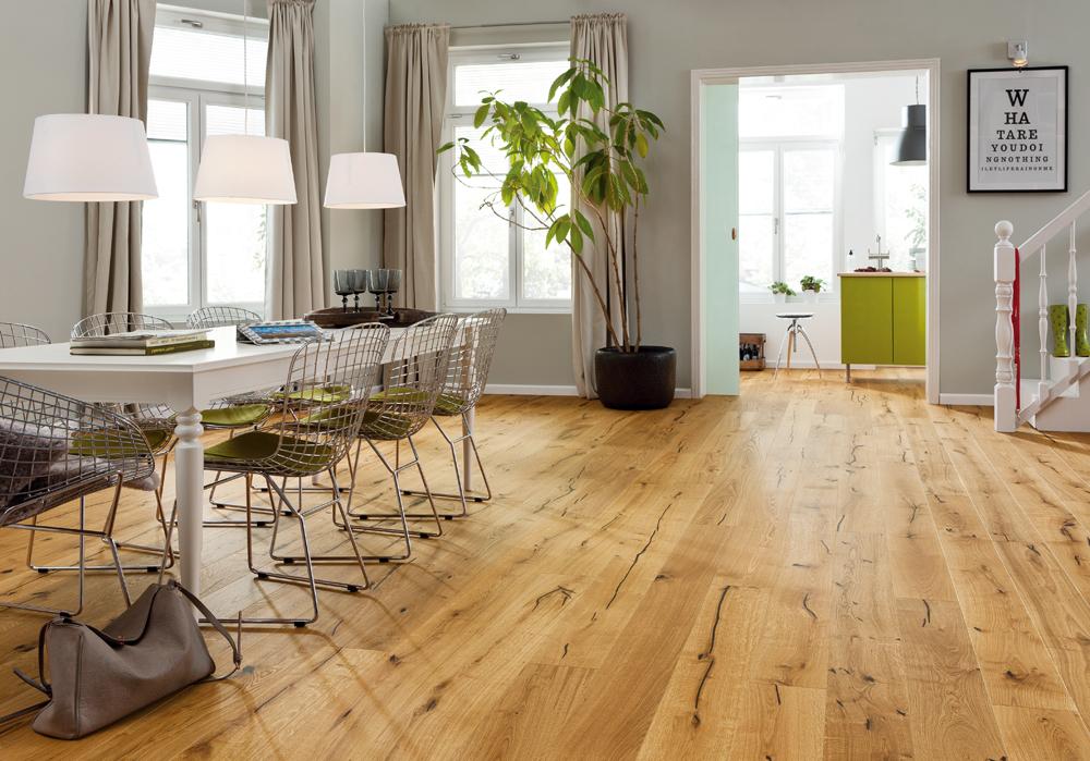 parkett eiche landhausdiele ge lt. Black Bedroom Furniture Sets. Home Design Ideas