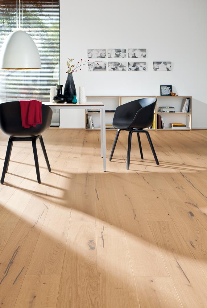 534604 haro parkett landhausdiele 3500 eiche wei universal vario strukturiert 2v fase natur ge lt. Black Bedroom Furniture Sets. Home Design Ideas