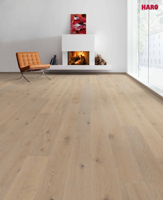 529087 haro parkett landhausdiele 4000 eiche sandbraun gekalkt sauvage strukturiert 4v fase. Black Bedroom Furniture Sets. Home Design Ideas