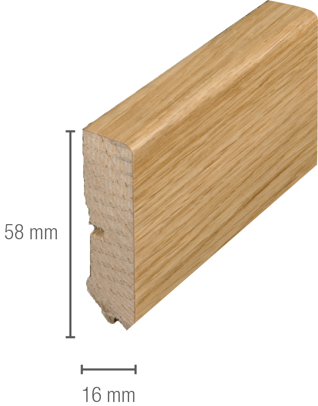 sl9020 i do fussleiste schiefer eiche 16 x 58 mm kubus. Black Bedroom Furniture Sets. Home Design Ideas