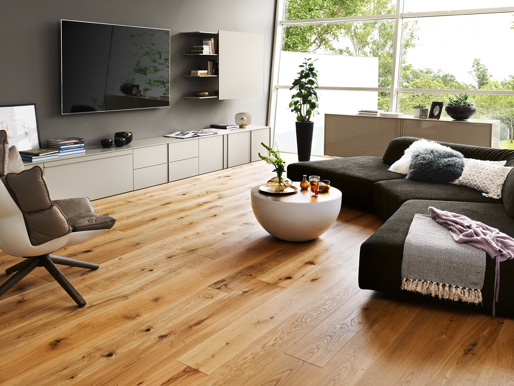528682 haro parkett landhausdiele 4000 eiche markant natur. Black Bedroom Furniture Sets. Home Design Ideas