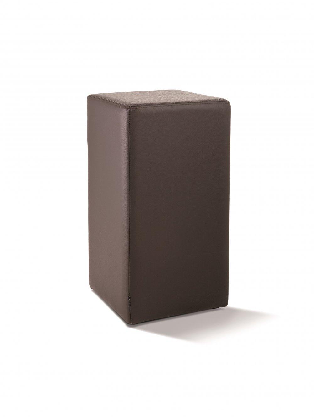 lederhocker braun elegant hocker in holz leder beige. Black Bedroom Furniture Sets. Home Design Ideas